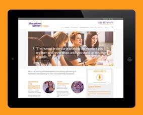 Sharpstone Skinner Web Design
