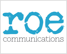 Roe Communications Logo/Web Design